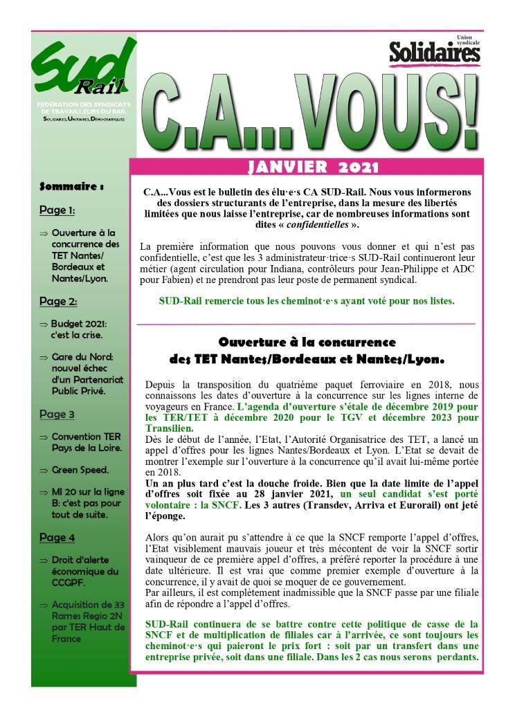 C.A… VOUS! janvier 2021