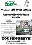 EEV PLY, en grève le 26 avril 2013