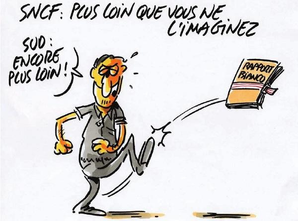 Non à la casse de la SNCF !