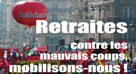 Retraites : Grèves et manifestations le 10 septembre.