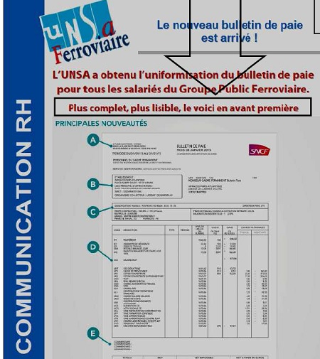 paie tract unsa