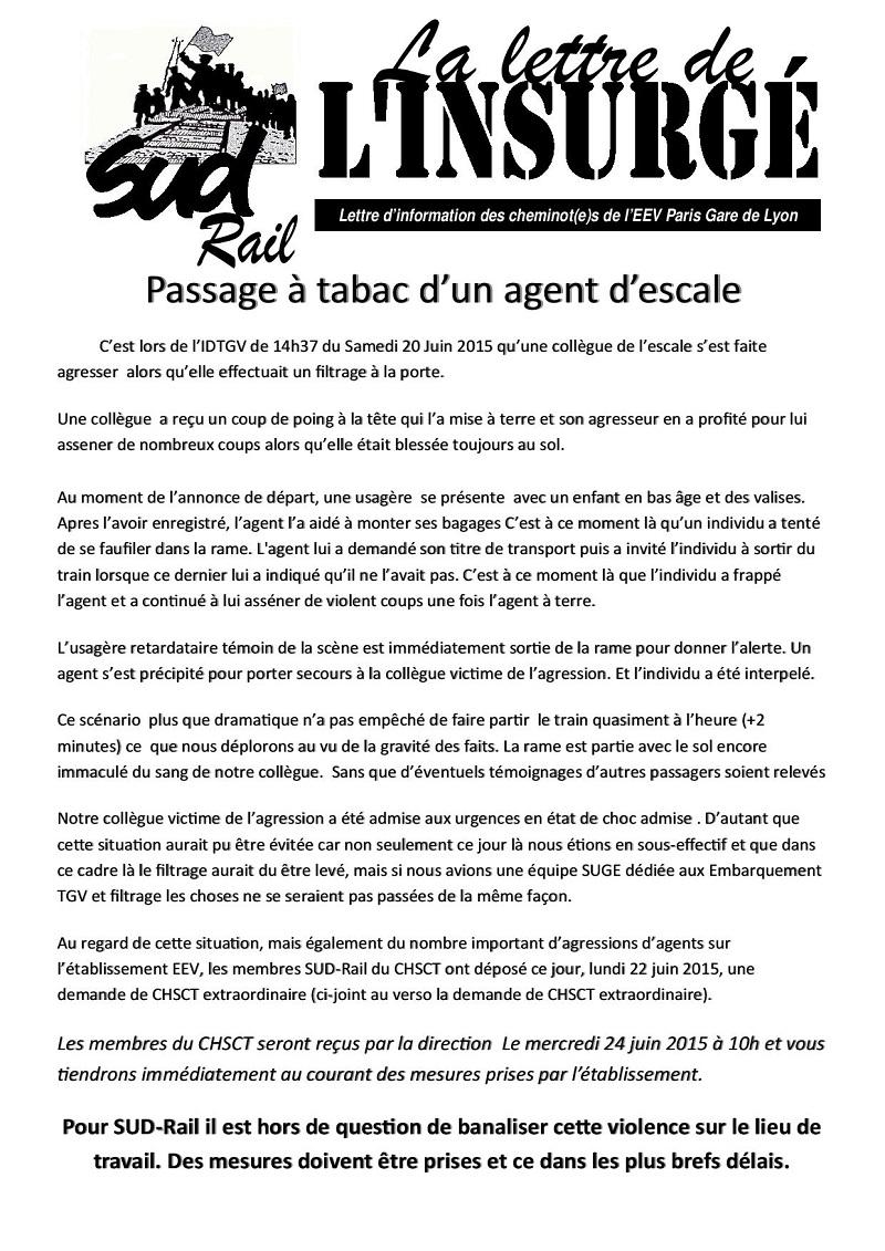 agression agent escale 06-2015