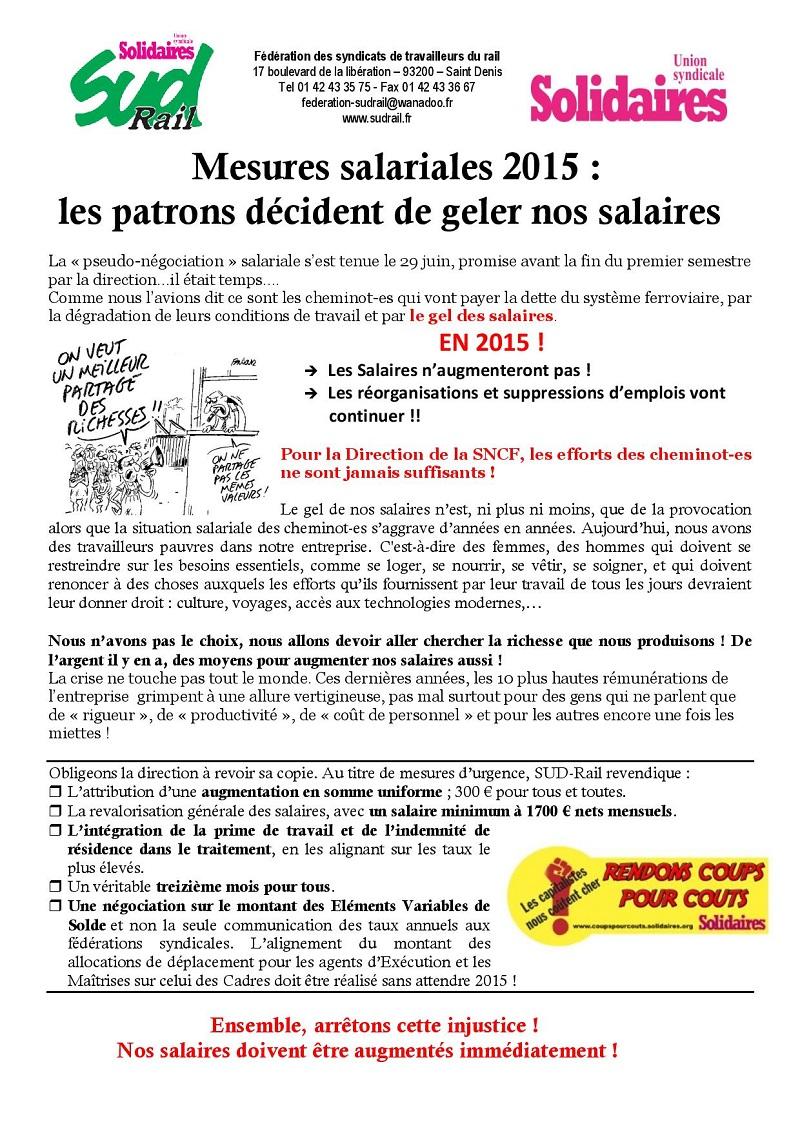 mesures salaires 2015