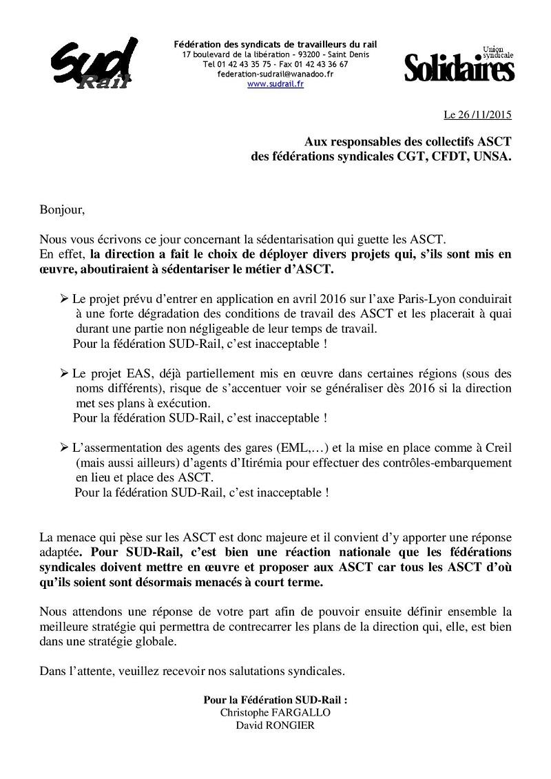 ASCT Courrier autres fede 11-2015