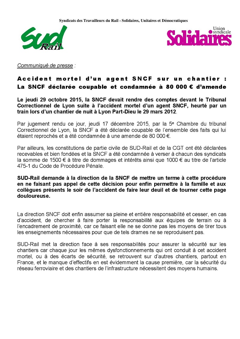 accident-mortel_la-SNCF-condamnee 12-2015