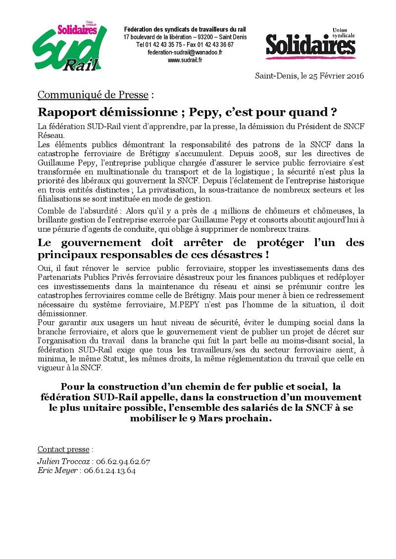 pepy demission 25-02-2016