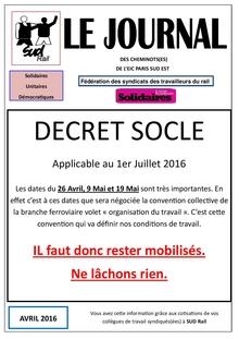 Le journal de l'EIC : Avril 2016
