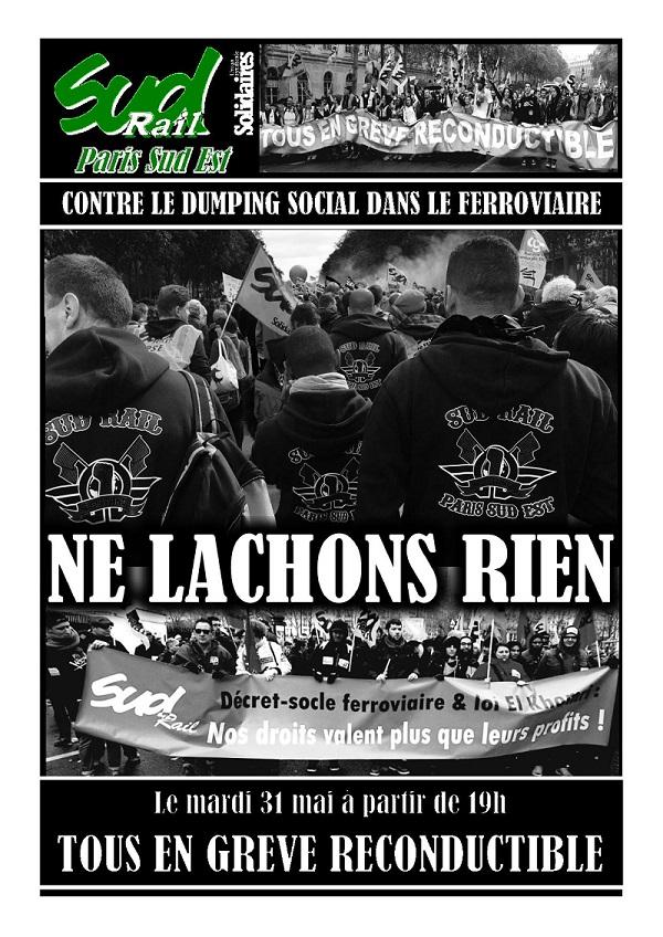Grève 31 mai  2016