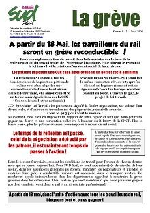 greve reconductible 18 mai 2016-ent