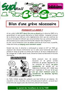 TSEE : Bilan de la grève 06-2016