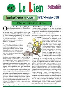 Le journal des retraités d'octobre 2016