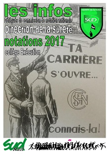 SUGE : Notations Exécutions Propositions 2017