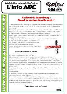 Bulletin d'info de la LN ADC de mars 2017