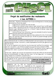 UPT Laroche : Discrimination made in Direction et CFDT