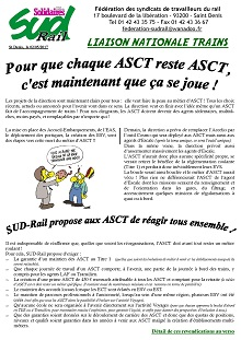 ASCT : Il faut réagir tous ensemble