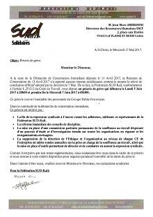 Souffrance au travail : SUD Rail dépose un préavis de grève