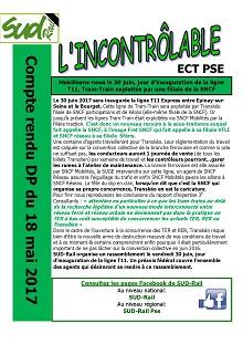 ECT : Compte rendu DP 18-05-2017