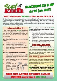 VFLI : Elections DP-CE du 21 juin 2017