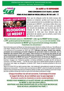 30 Aout et 12 septembre, tous concernés et dans l'action