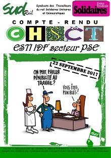 ESTI : Compte rendu CHSCT 09-2017