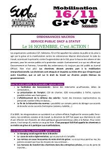 UP Traction Laroche : Le 16 novembre, c'est Action !