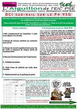 L'aiguillon de l'EIC : DCI Poste 4 VSG