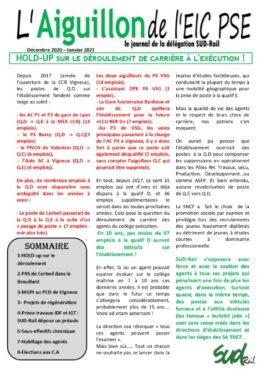 L'aiguillon de l'EIC : Janvier 2021