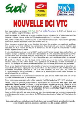 Nouvelle DCI VTC