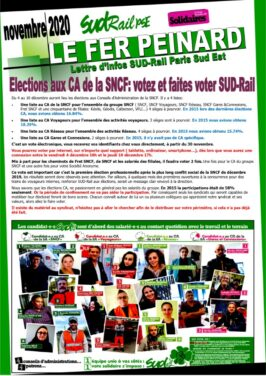 Fer Peinard Spécial Elections CA 2020