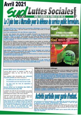 Le 3 juin, tous à Marseille pour la défense du service public ferroviaire !