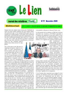LN Retraité-e-s : Le lien N°77