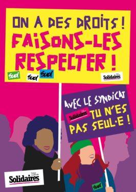 Elections TPE-TPA du 22 mars au 4 avril 2021 : Votons pour des représentant-e-s solidaires !