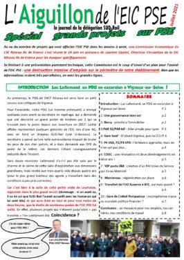Les Grands Projets sur l'EIC PSE : un massacre pour l'emploi !