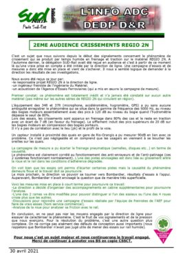 2eme audience crissement Regio2N