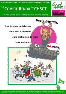 Technigares Ile de France : Compte rendu CHSCT décembre 2017 et janvier 2018