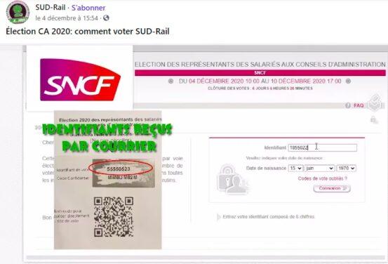 Tuto : comment voter SUD-Rail aux élections CA SNCF