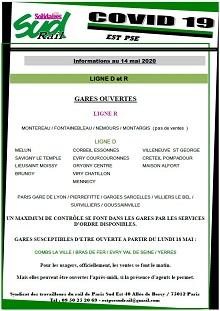 Covid-19 : Point d'informations du 14/05/2020 à l'EST PSE