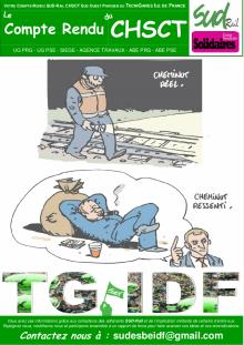 Technigares – Compte rendu CHSCT du 12-03-2018