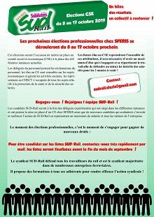 Elections CSE SFERIS : Recherche de candidats