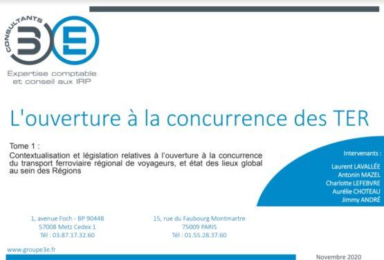 Expertise : l'ouverture à la concurence des TER