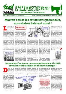 CE réseau Ile de France : L'impertinent n°11