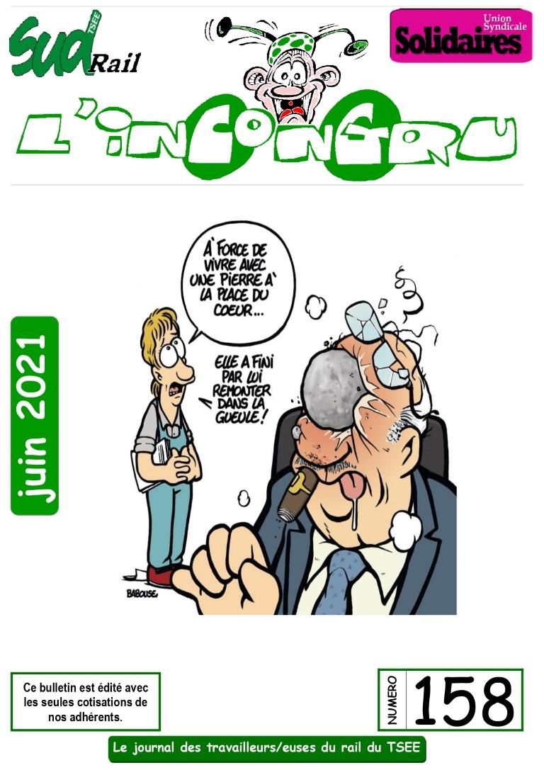L'Incongru n° 158 – Compte-rendu RPX Juin 2021