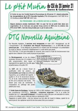 LE P'TIT MUTIN DU 28-01-21