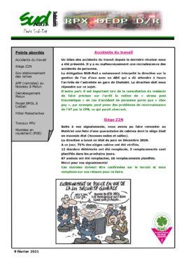 RPX DEDP D/R du 9 février 2021
