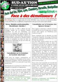 CSE axe TGV SE : Face à des démolisseurs !