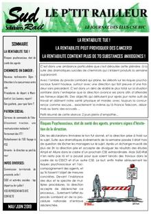 Le p'tit railleur : Le journal des élus CSE BFC