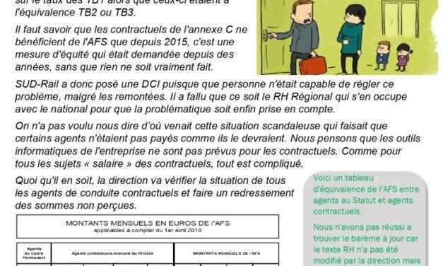 Allocation Familiale Supplémentaire (AFS) pour les contractuels