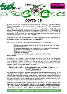 TSEE : Infos Covid-19